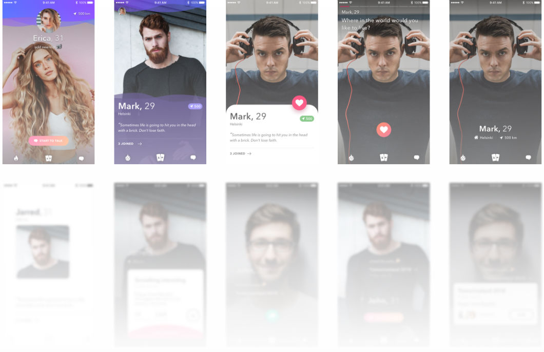 ux redesign for app