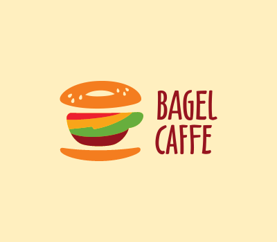 Delicious logo for a small cafe