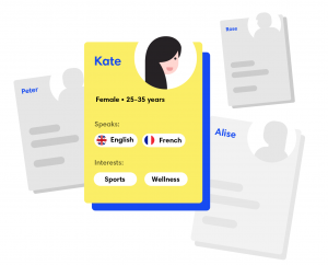 work on accuracy of your user personas