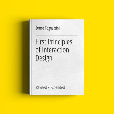18 First Principles of Interaction Design